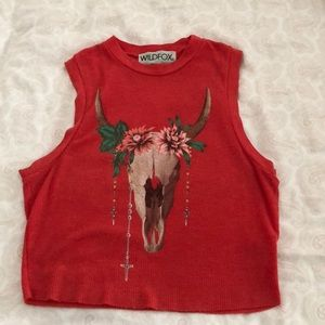 wildfox crop tank